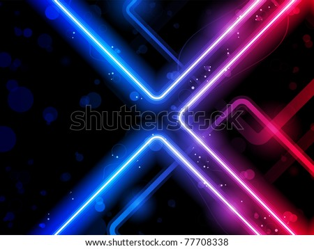 Vector - Rainbow  Lines Background Neon Laser