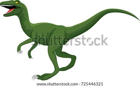 vector raptor dinosaur