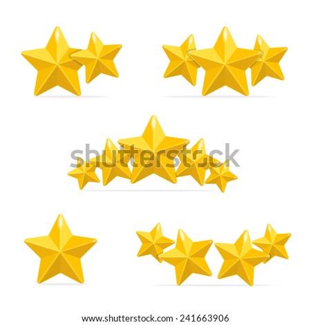 vector rating hotels stars