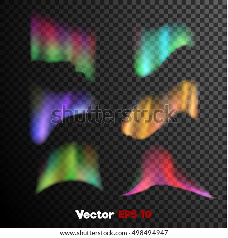 vector realistic 3d colored
