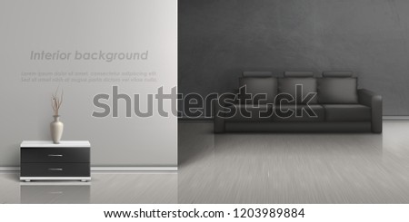 vector realistic mockup of
