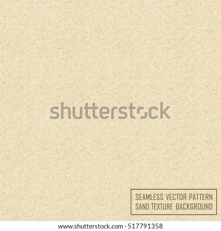 Vector realistic sand texture background.Seamless sand texture. Sandstone pattern, sand structure
