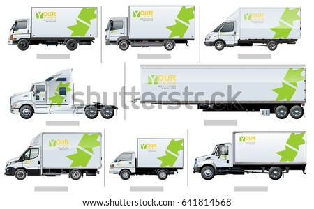 vector realistic transport