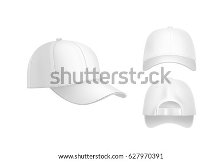 stock-vector-vector-realistic-white-baseball-cap-front-back-and-side-view-isolated-on-background