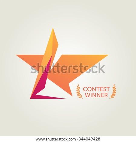 Vector Recognition Star Logo