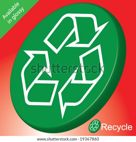 vector recycle recyclable matte