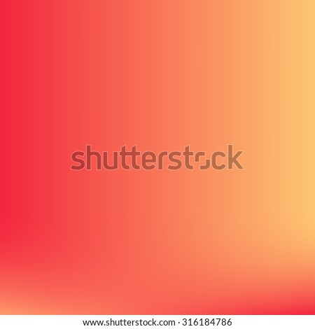 vector red and orange blurred