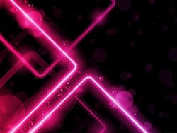 Vector - Red  Lines Background Neon Laser