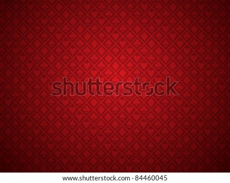 vector red poker background