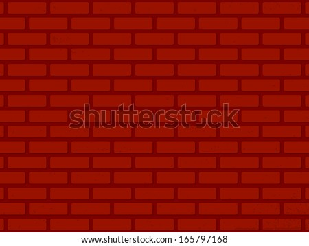 vector red wall background