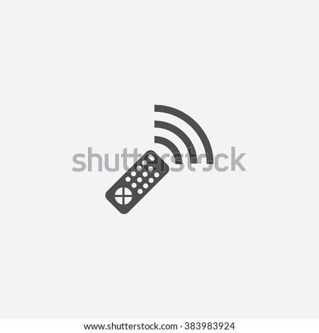 Vector remote control Icon