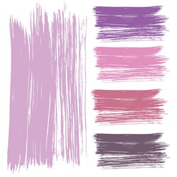 vector represents the texture of a brush stroke or brush. it can be used for creative projects. stock vector illustration. EPS 10.