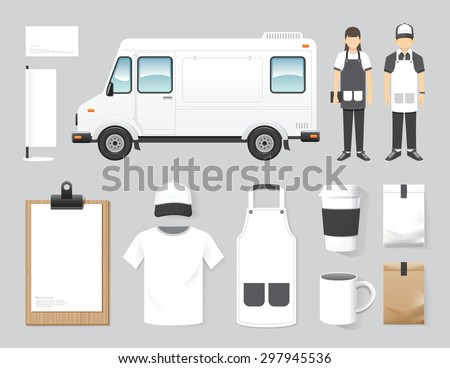 Food truck vectors download free vector art stock graphics images vector restaurant cafe design set street food truck shop flyer menu package pronofoot35fo Images