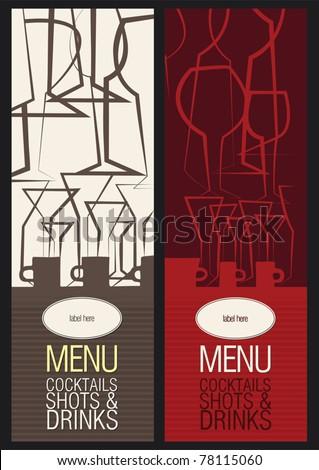 Vector. Restaurant, cafe or bar, menu design
