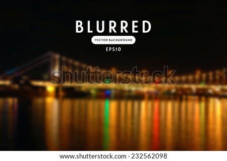 vector retro blurred unfocused