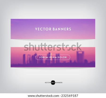 vector retro blurred unfocused