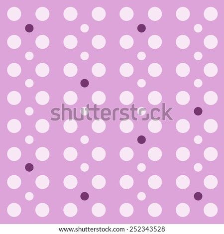 Vector retro pattern polka dots
