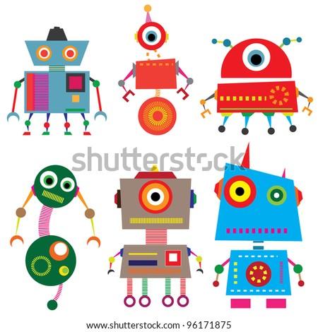 vector robot set