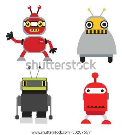 vector robots set