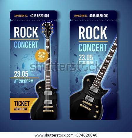 vector rock festival ticket