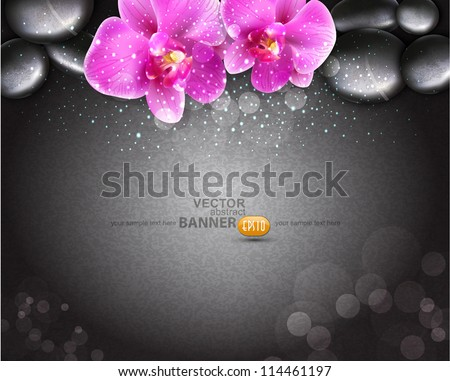vector romantic background with