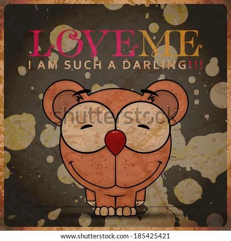 vector romantic illustration