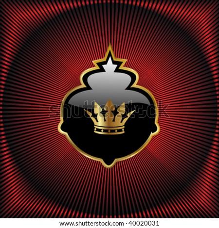 Vector royal design