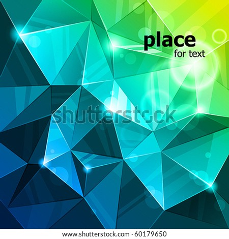 vector rumpled abstract background