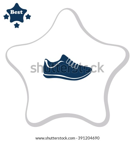 vector running shoes   sneakers
