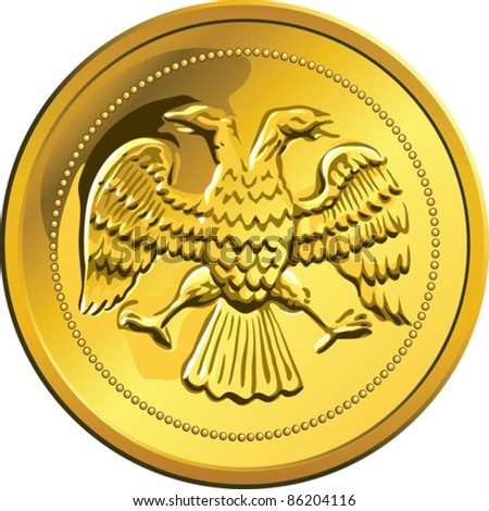 http://image.shutterstock.com/display_pic_with_logo/697543/697543,1318103654,2/stock-vector-vector-russian-money-ruble-coin-gold-with-double-headed-eagle-isolated-on-white-background-86204116.jpg