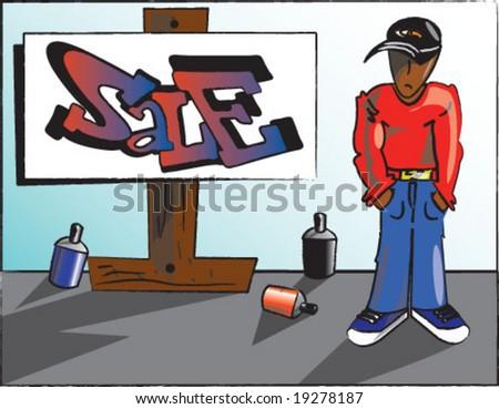 Vector Sale Graffiti Style - 19278187 : Shutterstock