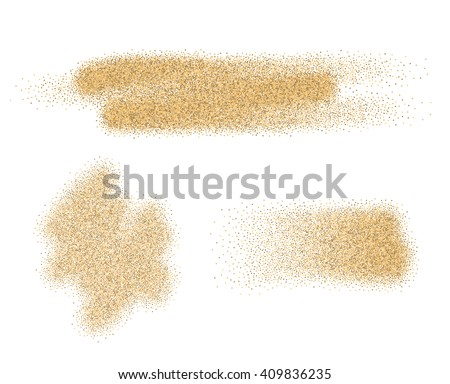 vector sand stains isolated on