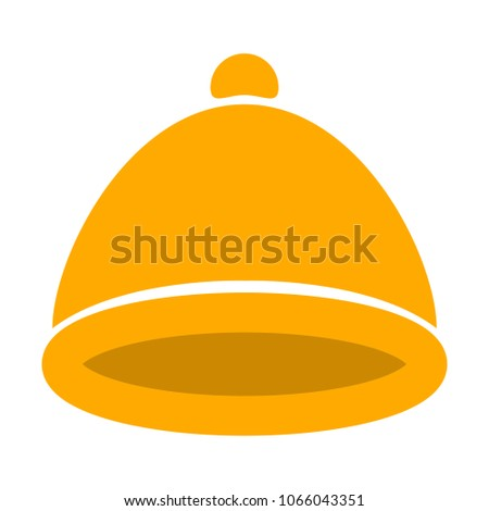 vector santa claus HAT, christmas HAT illustration - holiday celebration symbol