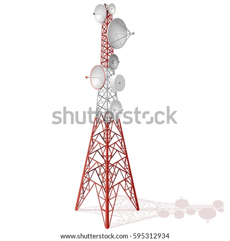 Antenna Tower Free Vector Art - (38 Free Downloads)