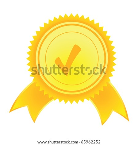 Vector Satisfaction Guaranteed label tag isolated over white background