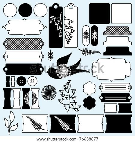Vector Scrapbooking Design Elements