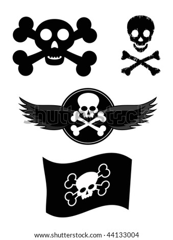 vector scull design elements