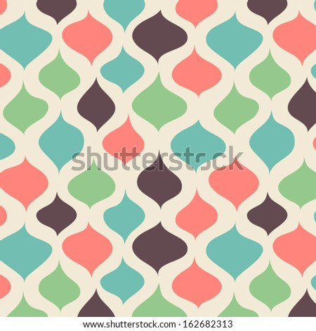 Vector seamless abstract hand-drawn pattern. EPS10 Vector illustration