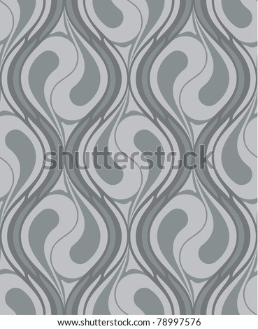 Vector seamless abstract pattern