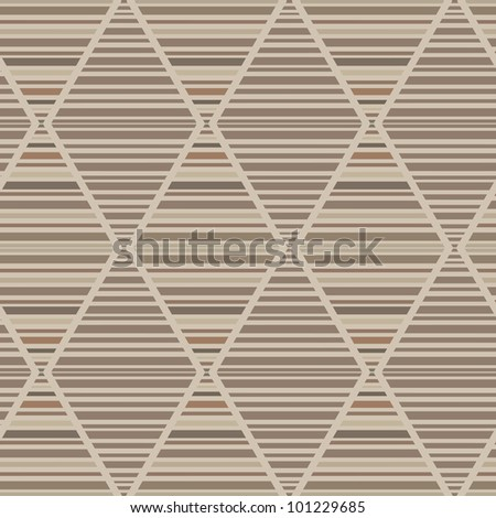 Vector seamless abstract wooden parquet brown background