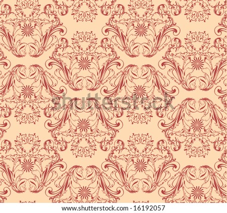 black and white damask wallpaper. pattern, Damask wallpaper