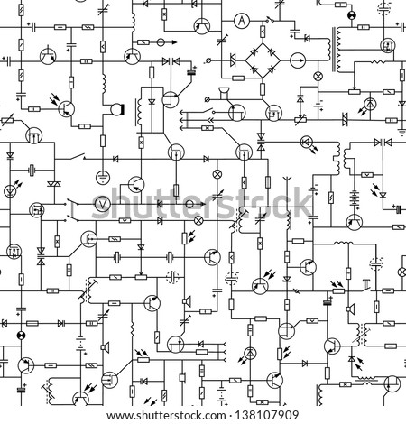 Blank Diagram Of The Human Respiratory System besides Dynamic Feedback  lifier For Basic furthermore Stock Vector Vector Illustration Diagram Charts For Butcher Shop Animals Silhouette Pork Goose And Beef Cow besides Stock Vector Vector Seamless Background Of Electrical Circuit Of Radio Device Resistance Transistor Diode further File  mon emitter. on schematic editor free