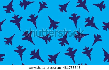 vector seamless background of