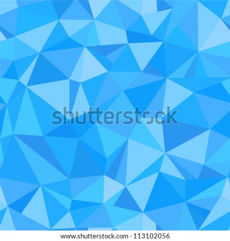 Vector seamless - blue brilliant pattern