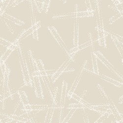 Vector seamless check pattern. Allover pattern. Ink grunge grid. Hand drawn seamless check pattern. Graphic background with ethnic tartan. Seamless check pattern background. White and Beige