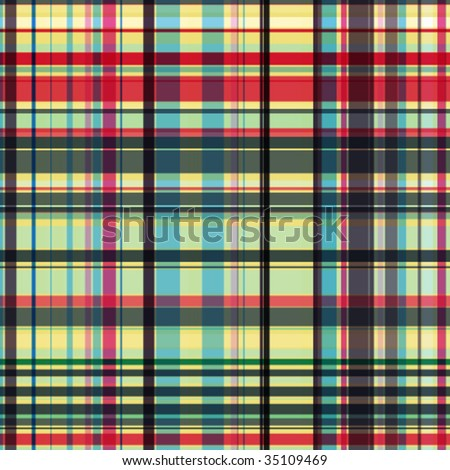 vector seamless checked pattern