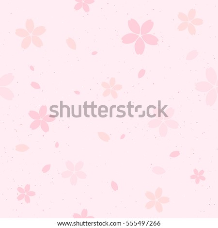 vector seamless cherry blossom