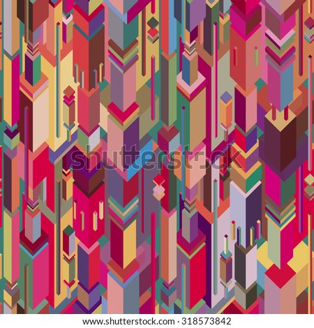 vector seamless colorful