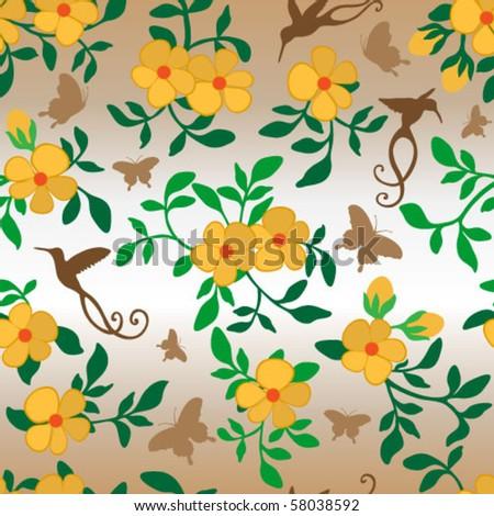 floral wallpaper tile. floral wallpaper tile.