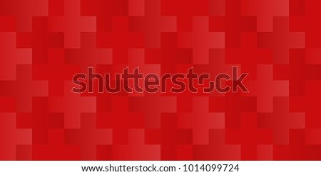 vector seamless cross or plus pattern with changeable background color for the crosses